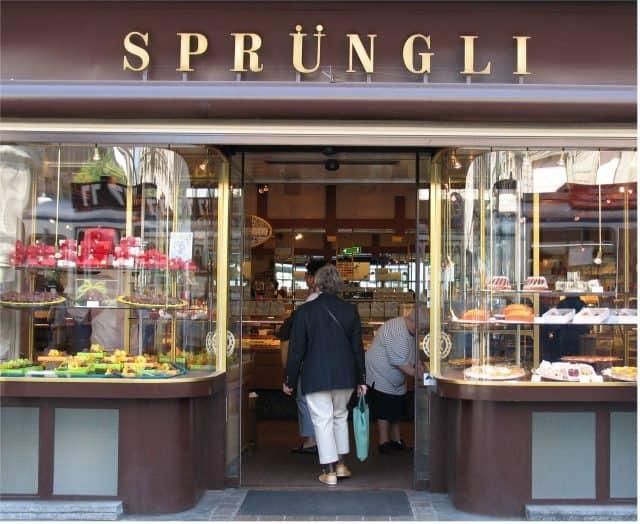 Lindt Sprungli Shop