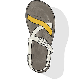 Chaco Strap System