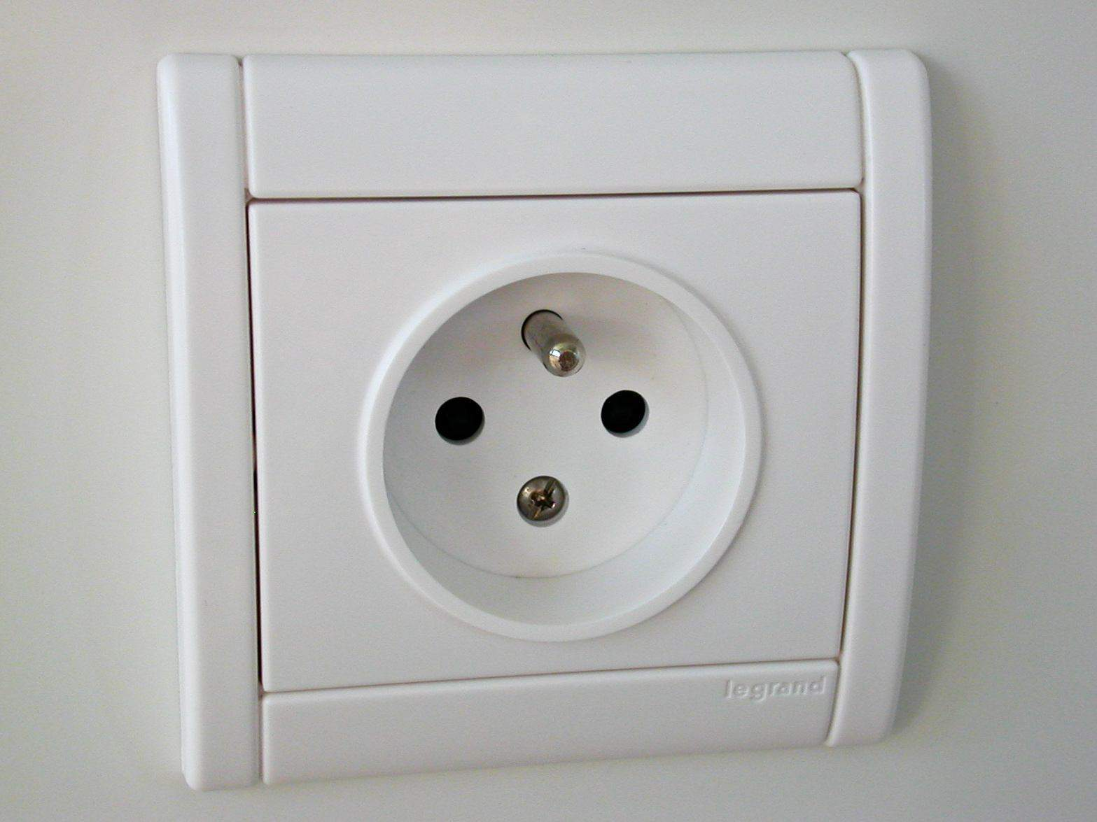 European Electrical Socket