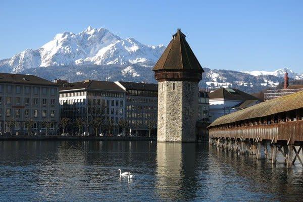 Pilatus from Lucern