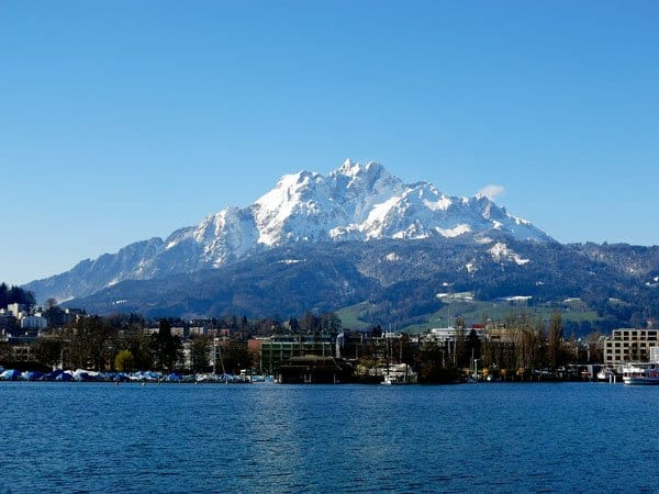 Pilatus Mountain Lucerne