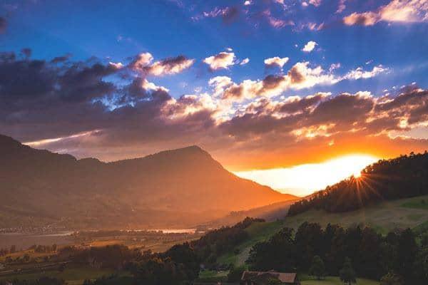 Rigi From Lucerne