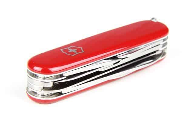 Famous Swiss Army Knife