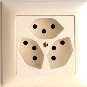 Swiss Electrical Socket