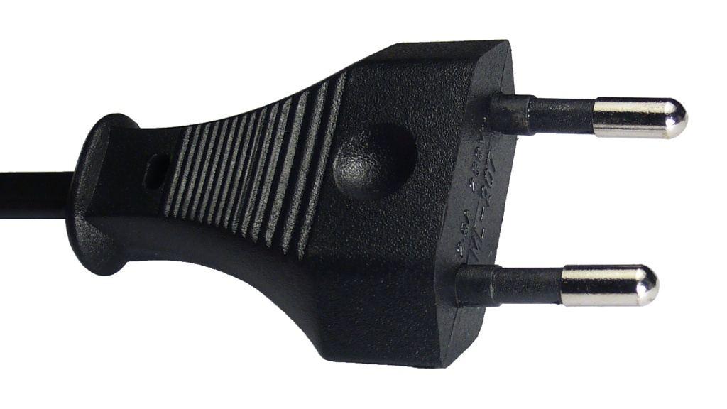Swiss Plug 2 pin/prong