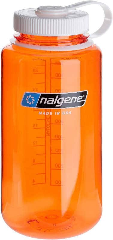 Nalgene travel water bottle