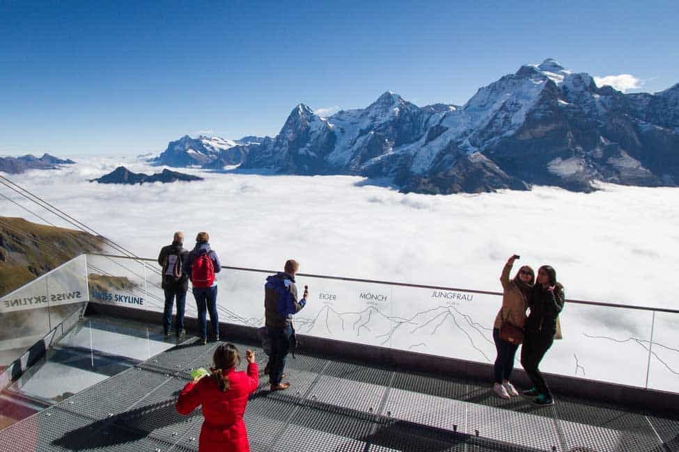 Schilthorn Piz Gloria Skywalk