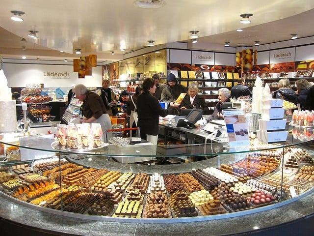 swiss chocolate factory, swiss chocolate tours