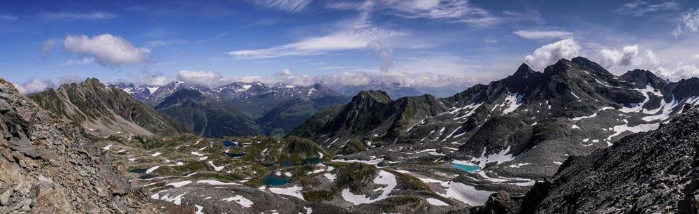 Lais de Macun - From the pass at the top