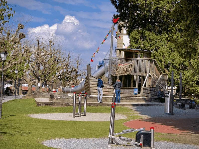 Kunstmuseum thun playground for kids
