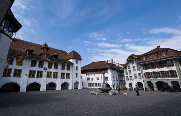 Rathausplatz - Town Hall Square, Thun