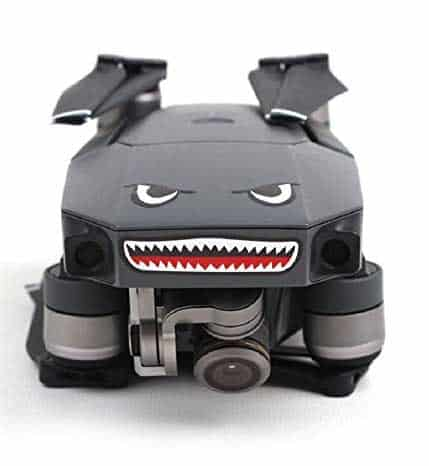 Hobby Signal 2pcs 3M Stickers Shark Face Decals