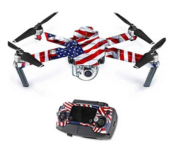 Mighty Skins Decal Mavic Pro - Patriot