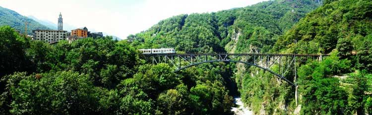 Centovalli Bridge Bungee Jump