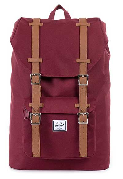 Little America Backpack Padded straps and back