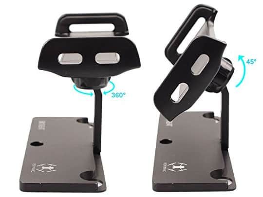 Skyreat Mavic Pro Tablet Holder Positions