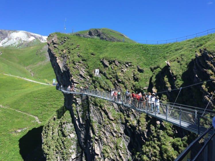 Tissot Cliff Walk - First, Grindelwald
