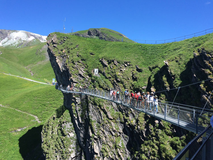 Tissot Cliff Walk - First, Grindelwald