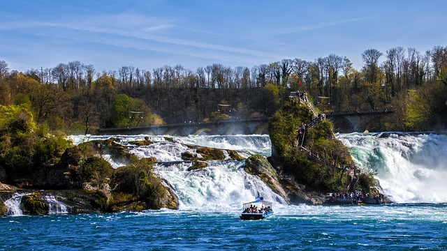 Best Waterfalls in Switzerland - Rhine Falls