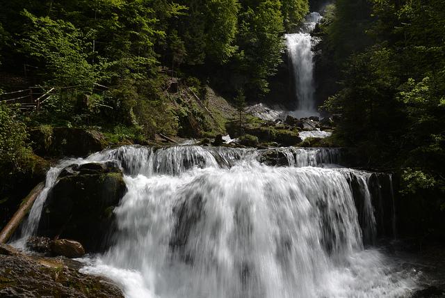 Best Waterfalls in Switzerland - Giessbach Falls