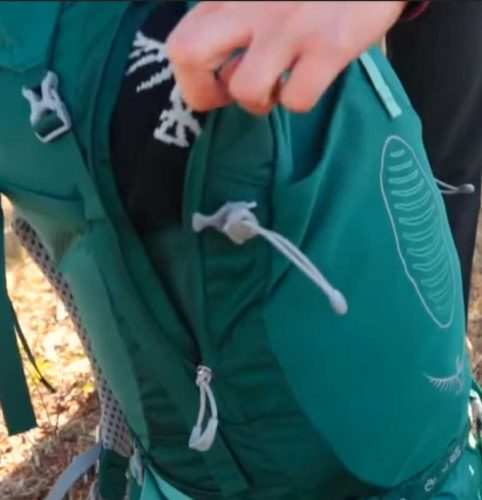 Osprey Atmost Dual Front Zippers