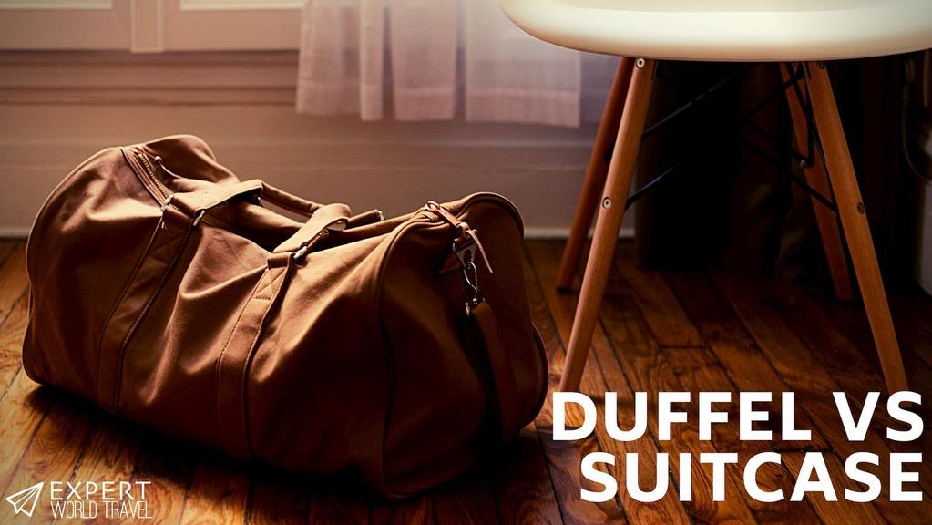 duffel vs suitcase