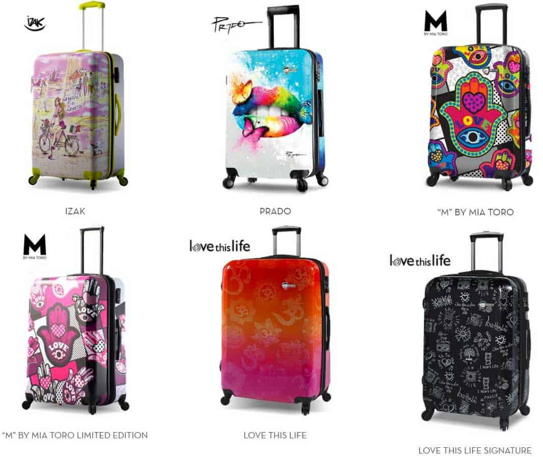 Mia Toro Como Hard Side Spinner Luggage Carry-on
