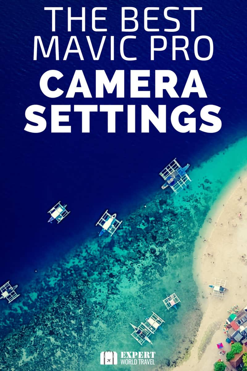 mavic pro camera settings
