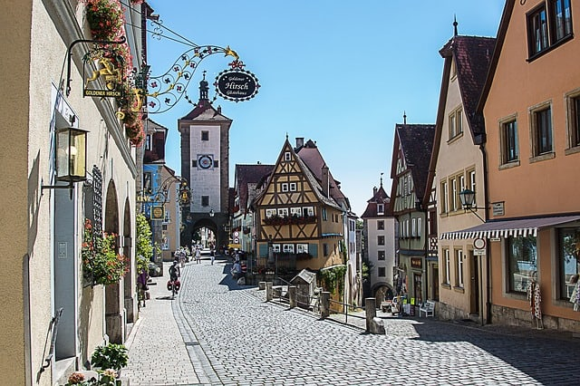 Plonlein, Rothenburg, Germany