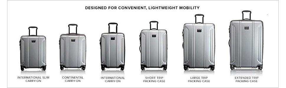 Tumi Vapor Size Options