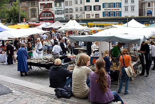 Flea Market Petersplatz