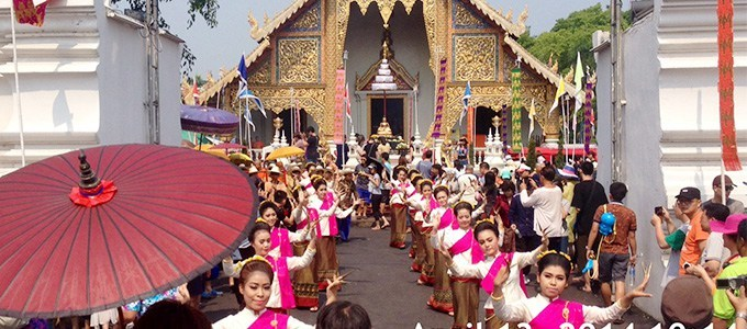 Songkran Chiang Mai 2019