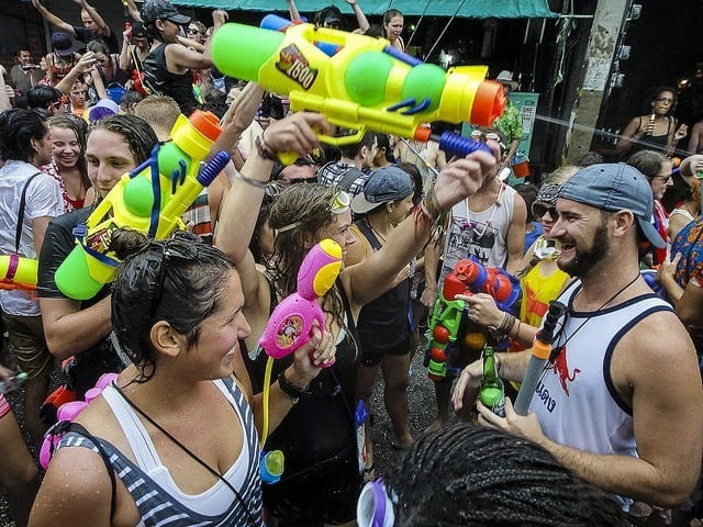 Songkran in Chiang Mai 2019