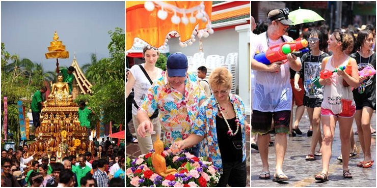 Songkran 2019 Dates