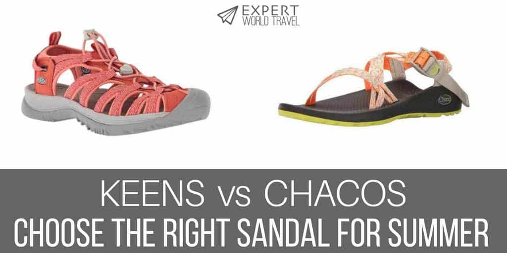 Keens Vs. Chacos