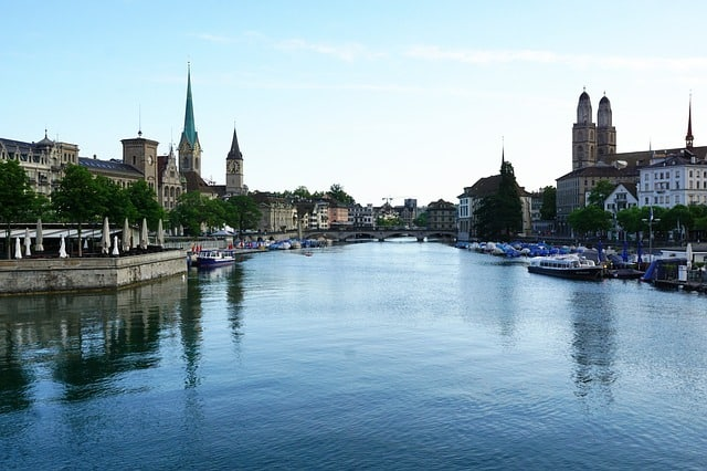 Zurich Riverbank