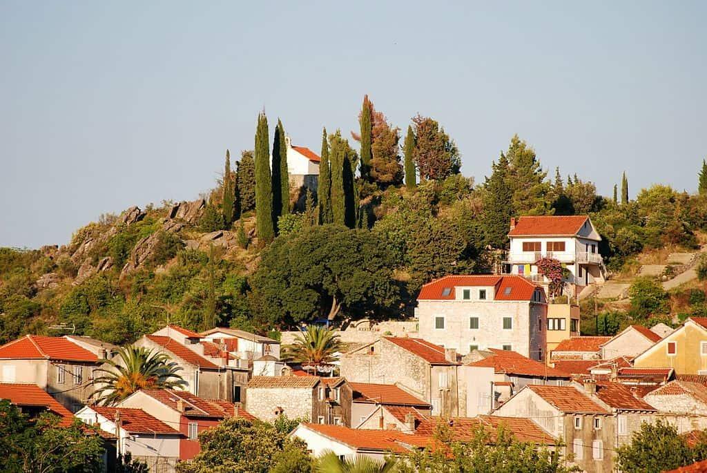 The town of Trpanj croatia