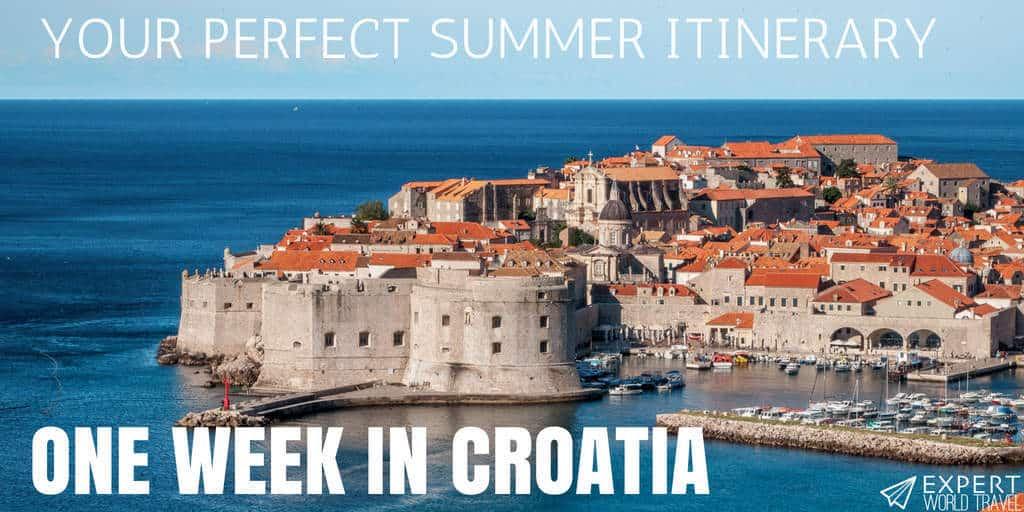 One Week In Croatia