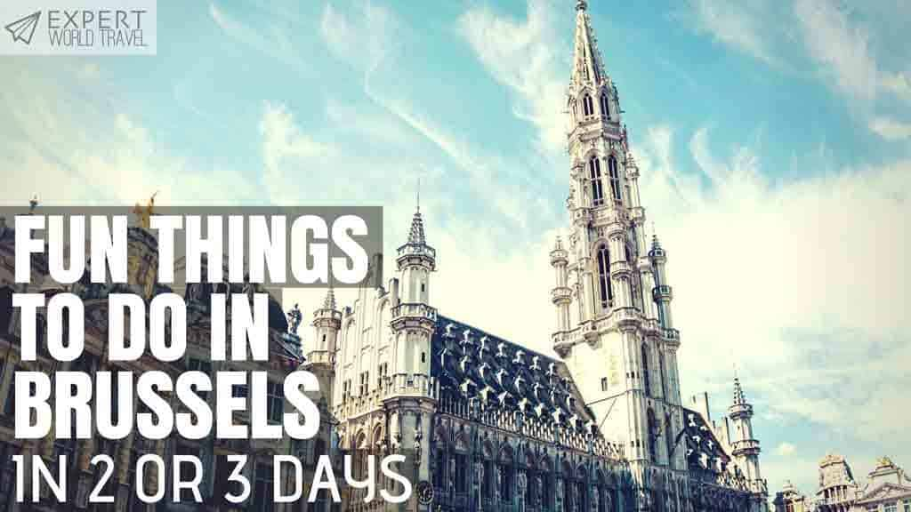 2 or 3 days in Brussels