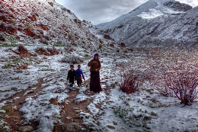 Chomolhari Trek, Bhutan