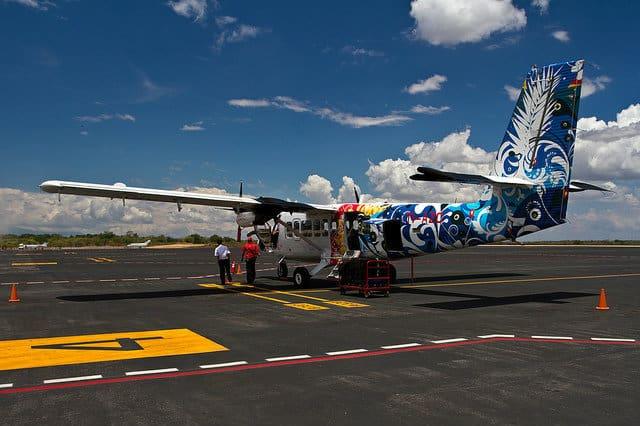 Plane Liberia Airport