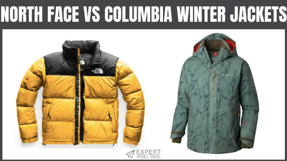 North Face Vs Columbia Winter Jackets