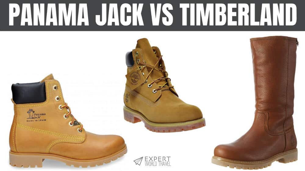 exquisite design beautiful in colour united kingdom Panama Jack Vs. Timberland: Best Boots For You | Expert ...