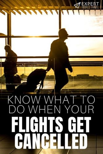 Flight got cancelled? Don't fret. The airline is not out to get you, it's for your own good, believe it or not. Find out why.