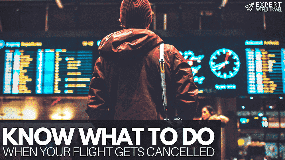 What To Do When Your Flight Is Cancelled