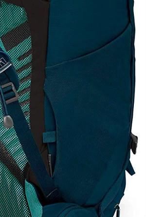 Osprey Kyte Side Pockets