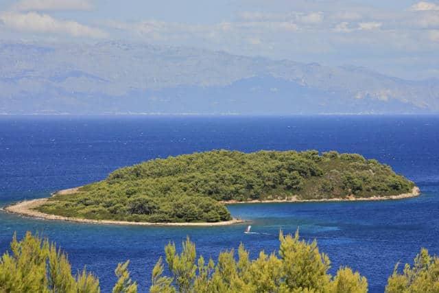 View Of Zecevo Island