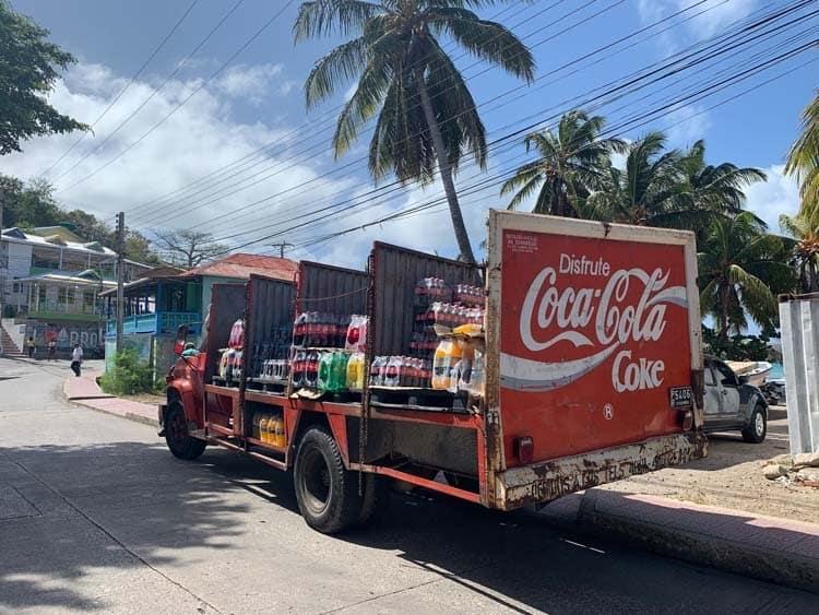coke truck providencia