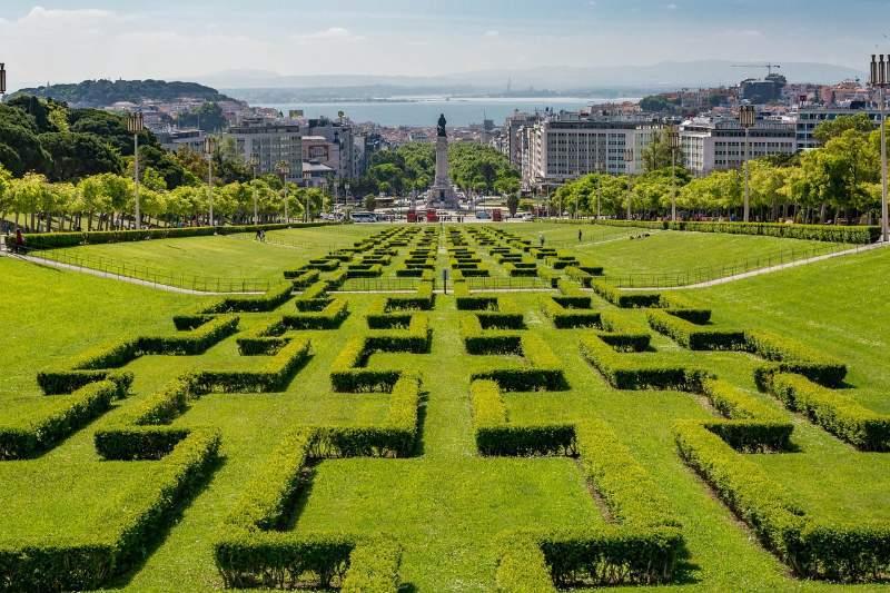 Lisbon Eduardo VII Park