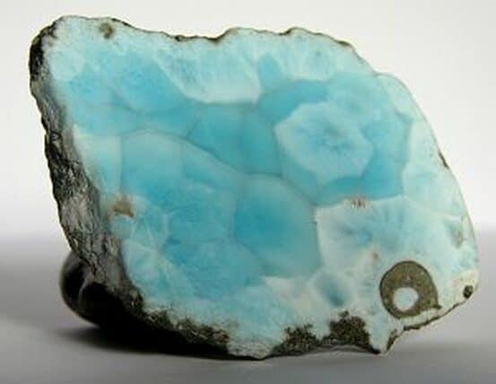 Silicate mineral pectolite - Larimar